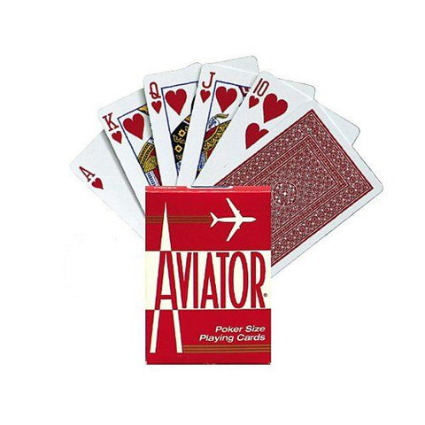 Aviator Poker Cards