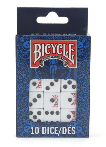Bicycle 10 Dice Pack