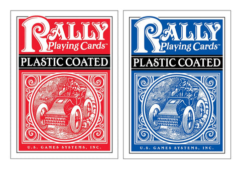 Rally Plastic-Coated Playing Cards