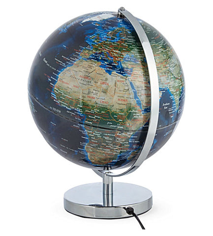 "12"" City Lights Globe"