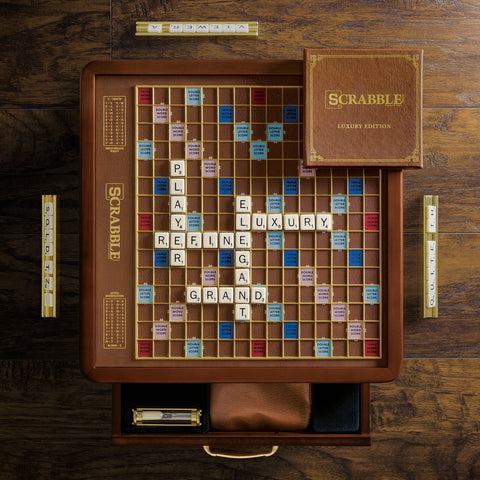 Scrabble Luxury Edition Game