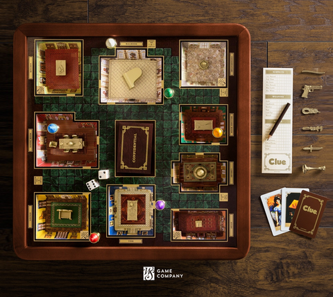 Clue Game Luxury Edition