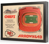 3D Chiefs Arrowhead Stadium