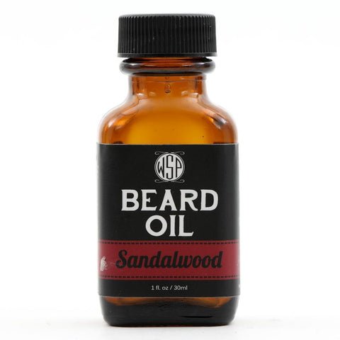 Wet Shaving Products Sandalwood Beard Oil