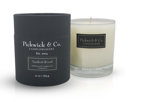 Pickwick & Co. Candle - Tamboti Woods