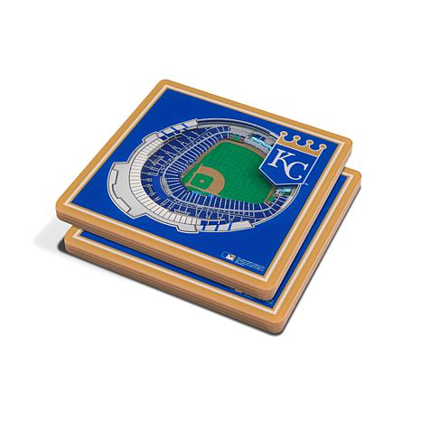 KC Royals 3D Coasters