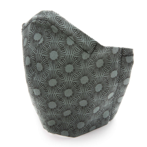 Peacock Design Cotton Fabric Protective Face Mask