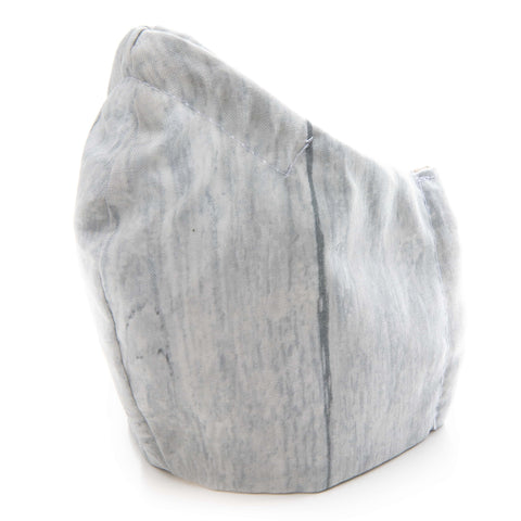 Cotton Fabric Protective DOUBLE LAYERED Face Mask (Grey)