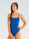 Dolfin Graphlite Series Solid Cross Back Swimsuit - Royal