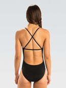 Dolfin Graphlite Series Solid Cross Back Swimsuit - Back