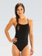 Dolfin Graphlite Series Solid Cross Back Swimsuit - Black