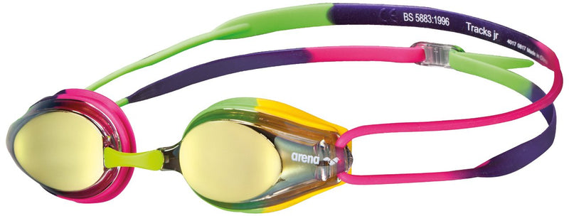Arena Tracks Junior Mirrored Goggles - K&B Sportswear