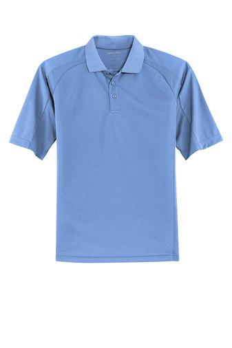 Sport-Tek Dri-Mesh Pro Polo in Columbia Blue with Team Logo - United - K&B Sportswear