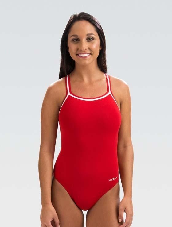 Dolfin RELIANCE Team Solid DBX Back - Red