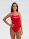 Dolfin Women's XtraSleek Solid Red Guard HP Back 1-Piece