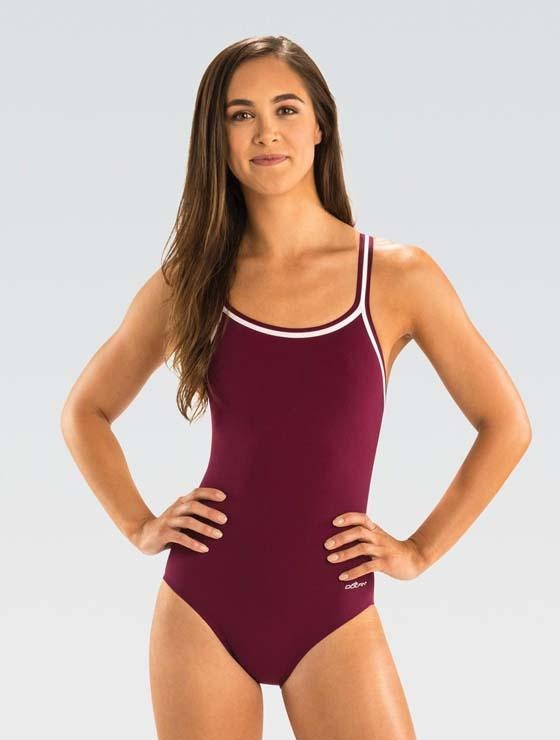 Dolfin RELIANCE Team Solid DBX Back - Maroon