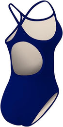 TYR Solid Durafast One Diamondfit Royal with Team Logo