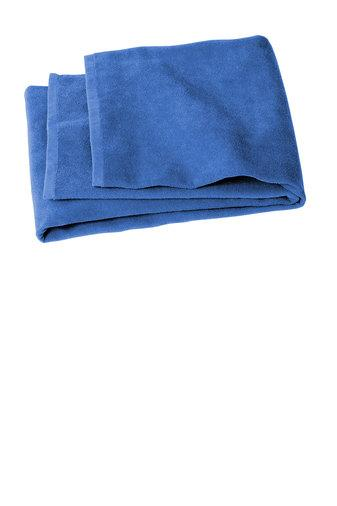 Cotton Velour 30x60 Royal Team Towel with Team Logo & Personalization - Weymouth - K&B Sportswear