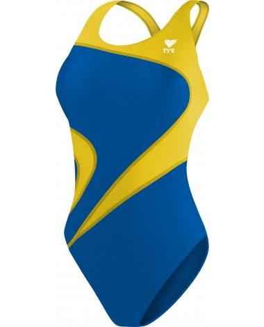 TYR Girl's Alliance T-Splice Maxfit Swimsuit- CRA Swim Lessons - K&B Sportswear