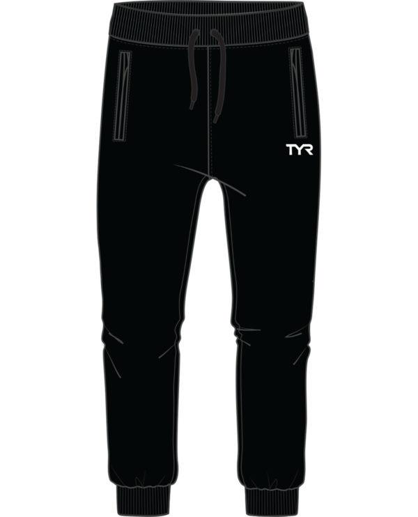 TYR Men's Black Alliance Podium Joggers with Team Logo - Weymouth - K&B Sportswear