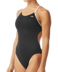 TYR Women's Hexa Cutoutfit Swimsuit - Black/White