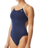 TYR Women's Hexa Cutoutfit Swimsuit - Navy/White