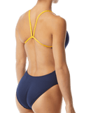 TYR Women's Hexa Cutoutfit Swimsuit - Navy/Gold