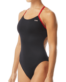 TYR Women's Hexa Cutoutfit Swimsuit - Black/Red