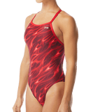 TYR Women's Reaper Diamondfit Swimsuit - Red