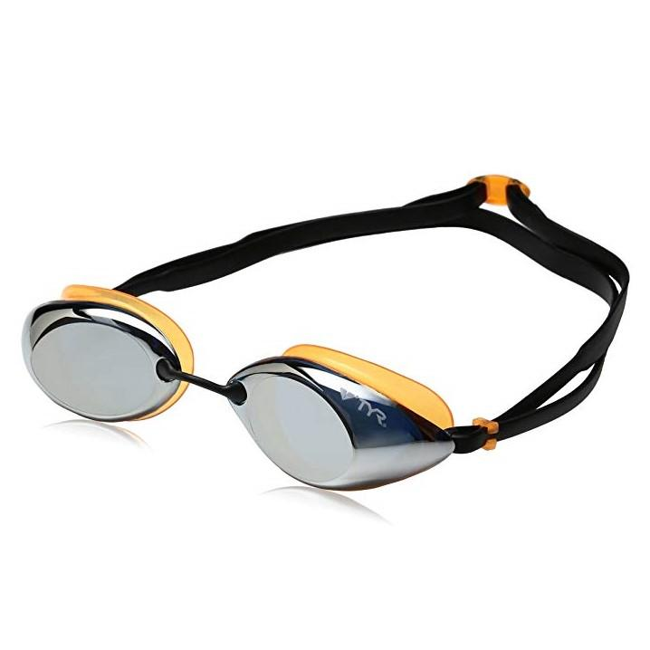 TYR Tracer Racing Adult Mirrored Goggles - K&B Sportswear