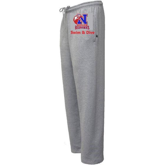 Pennant Super-10 Pocket Sweatpant in Grey with Natick HS Logo - K&B Sportswear