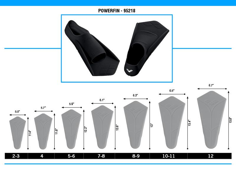 Arena Powerfin - K&B Sportswear