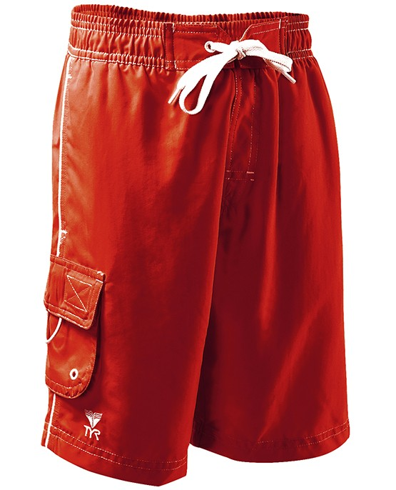 TYR Boy's Solid Challenger Swim Short