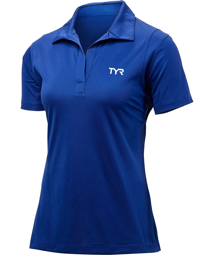 TYR Women's Alliance Tech Polo - K&B Sportswear