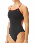 TYR Women's Hexa Trinityfit Swimsuit - Black/Red