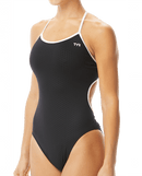 TYR Women's Hexa Trinityfit Swimsuit - Black/White