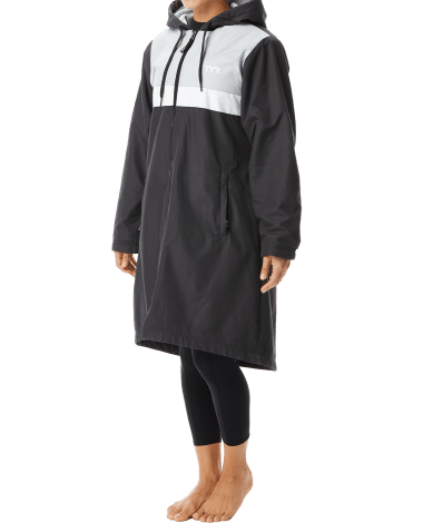 TYR Women's Alliance Podium Parka with Team Logos and Personalization - SSYS