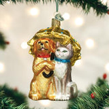 Old World Christmas - Raining Cats & Dogs Ornament