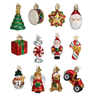 Old World Christmas - Mini Christmas Ornament Collection (Set of 12)