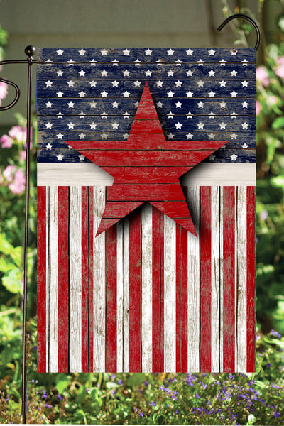 Stars & Stripes Garden Flag