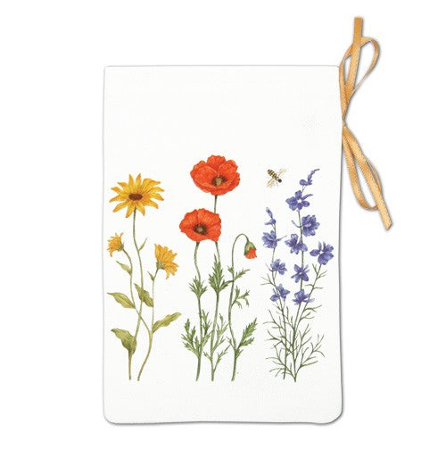 Flour Sack Towel - Flowers