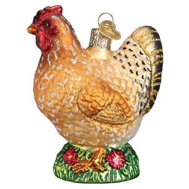 Old World Christmas - Spring Chicken Ornament