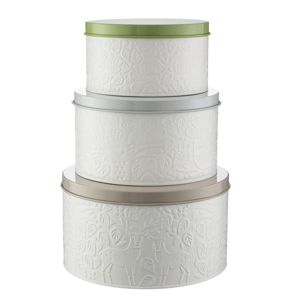 In The Forest - Cake Tins (Set of 3)
