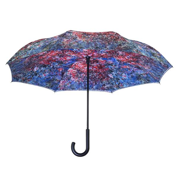 Reverse Closing Stick Umbrella