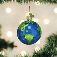 Old World Christmas - Planet Earth Ornament