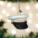 Old World Christmas - Marine's Cap Ornament