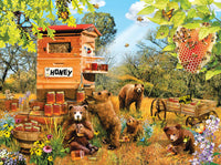 Bears and Bees 1000 Piece Puzzle