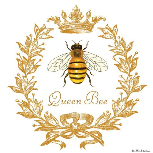 Flour Sack Towel - Queen Bee