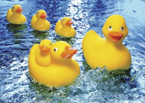 Rubber Duckies 60 Piece Puzzle