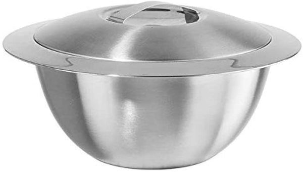 Double Wall Insulated Hot/Cold Serving Bowl w/ Lid (3QT)